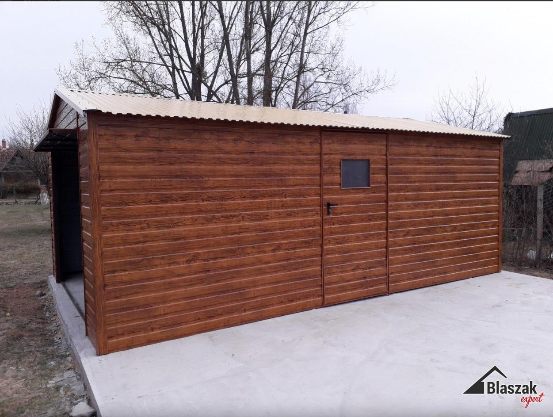 producent garaży drewnopodobnych